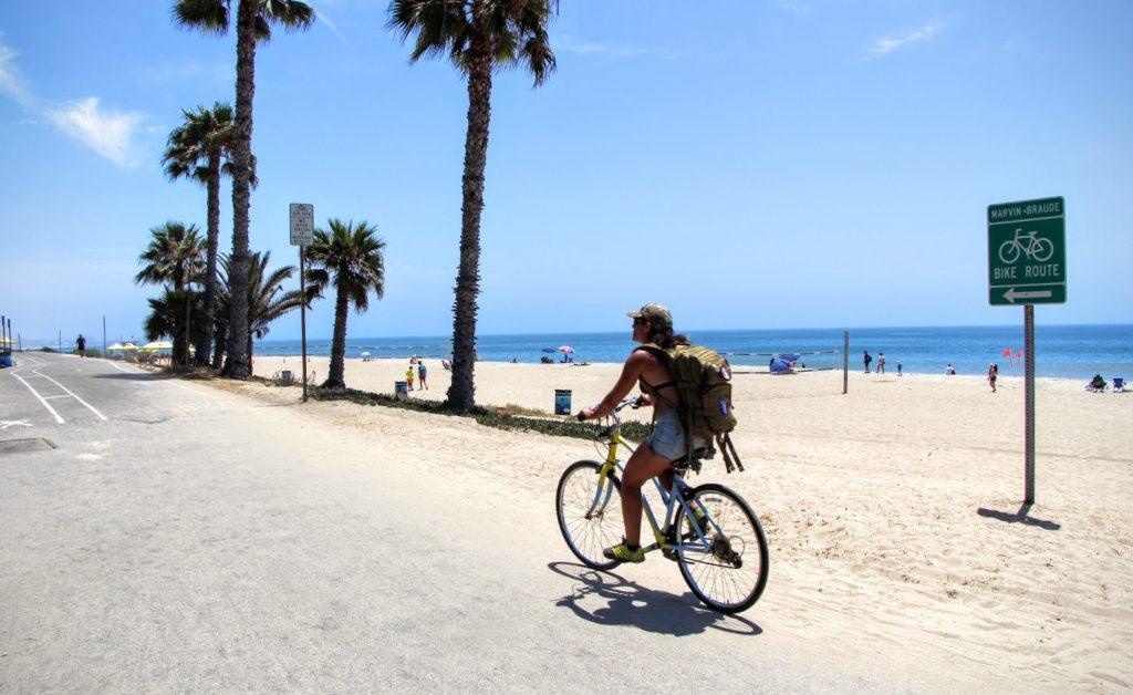 Santa Monica - biking